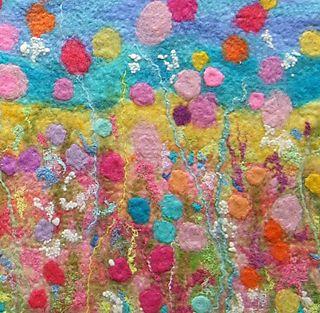Felt Flowers Detail