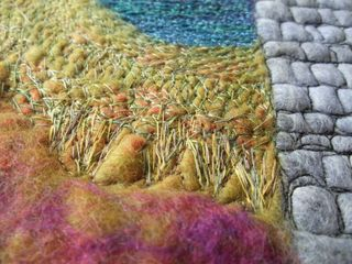 Felt and Machine Stitching