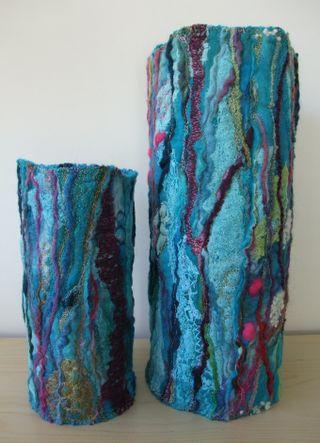 Handmade Felt Vase Wrap