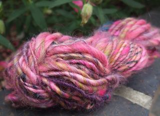 Hank of Handspun Yarn