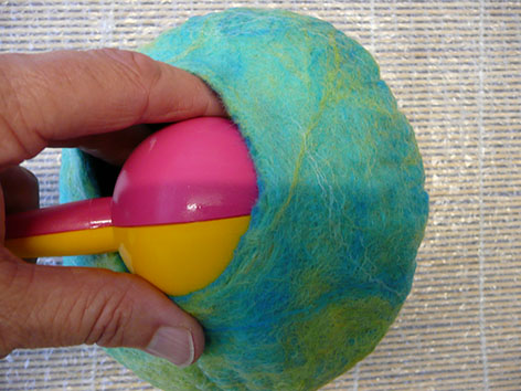 20. Tutorial - How to make a wet felt pod vessel