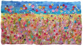 Handmade Felt Meadow