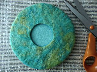 18. Tutorial - How to make a wet felt pod vessel