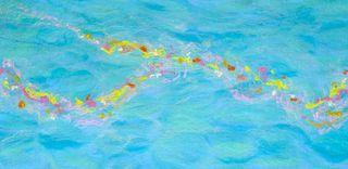 Handmade Felt Art - Flotsam 1