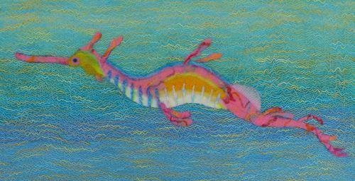 Wool Felt Sea Dragon