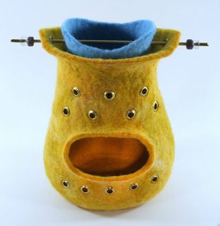 Decorative felt oil burner small image