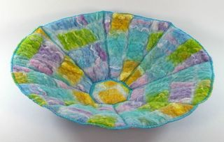 3D felt and stitch bowl small image1677a