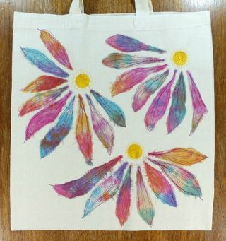 Embroidered tote small image1670a