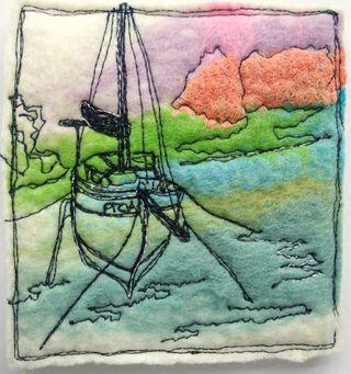 Felt_Coaster_Sailing_Boat