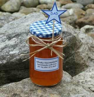 Whisky marmalade for dad