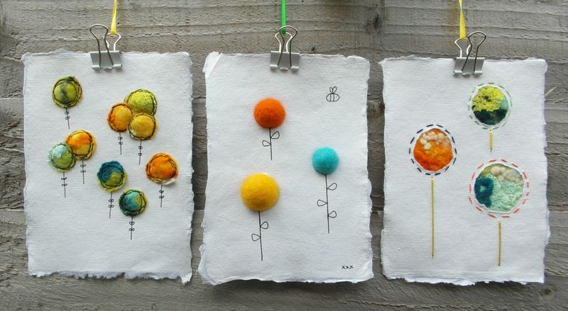Three_Handmade_Felt_and_Paper_Pictures