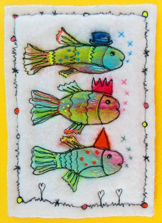 Birthday_Fish_On_Yellow_Card