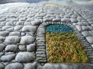 Texture created by stitching - small image