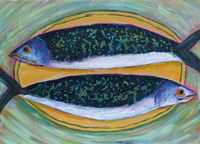 Fish on a plate - small image