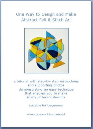 AbstractFeltStitchArt