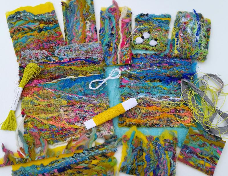 Unfinished_yarn_handmadefelt_pieces