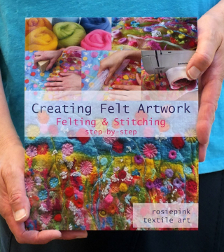 Paperback Creating Felt Artwork - Felting & Stitching