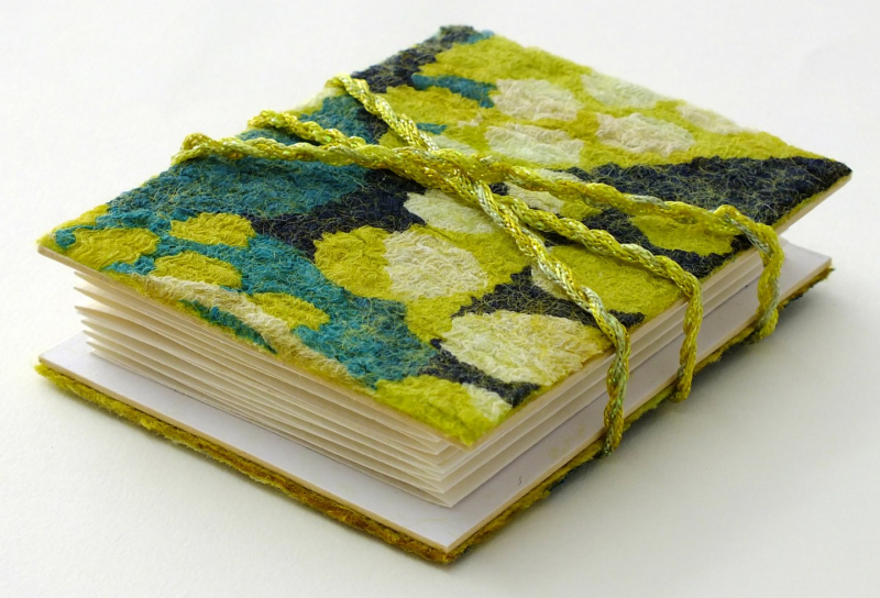 Nuno felt covered journal