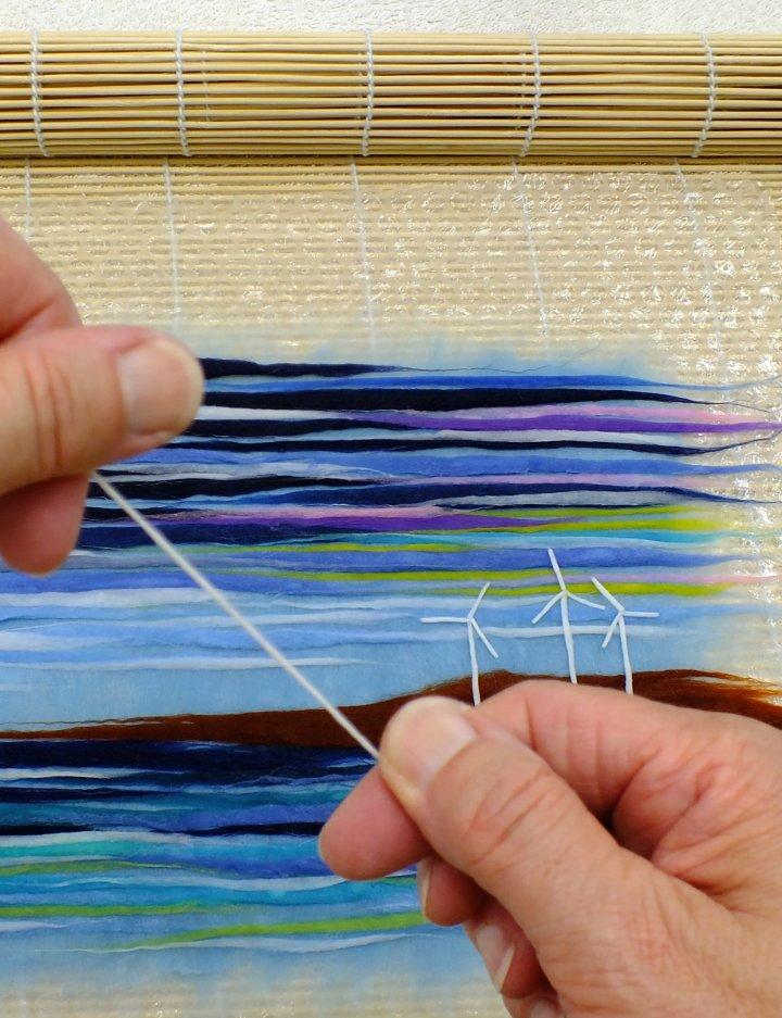 Making the windmills