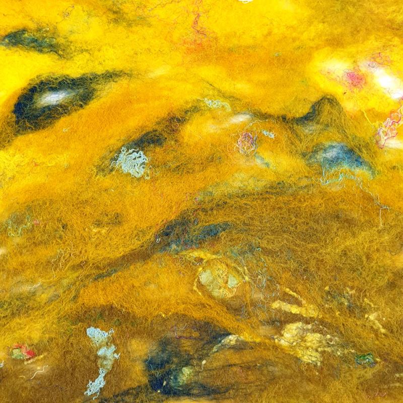 Yellow_Batt_Felted_Detail