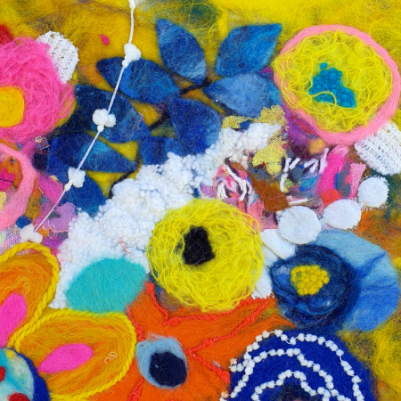 Felted_Flowers_Detail_2