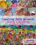 How to - Creating Felt Artwork