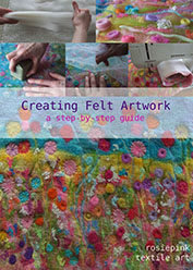 How to Make Felt - Creating Felt Artwork eBook