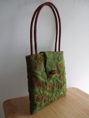 Felt Rose Bag